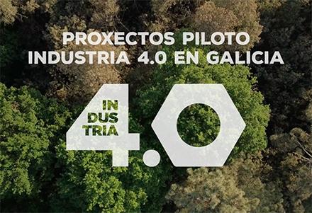 Vídeo Proxectos Piloto Industria 4.0 en Galicia