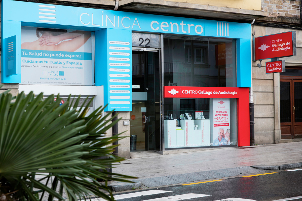 Imagen Corporativa Gráfica Clínica Centro