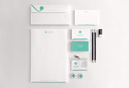 Diseño Imagen Corporativa Gráfica ASANES
