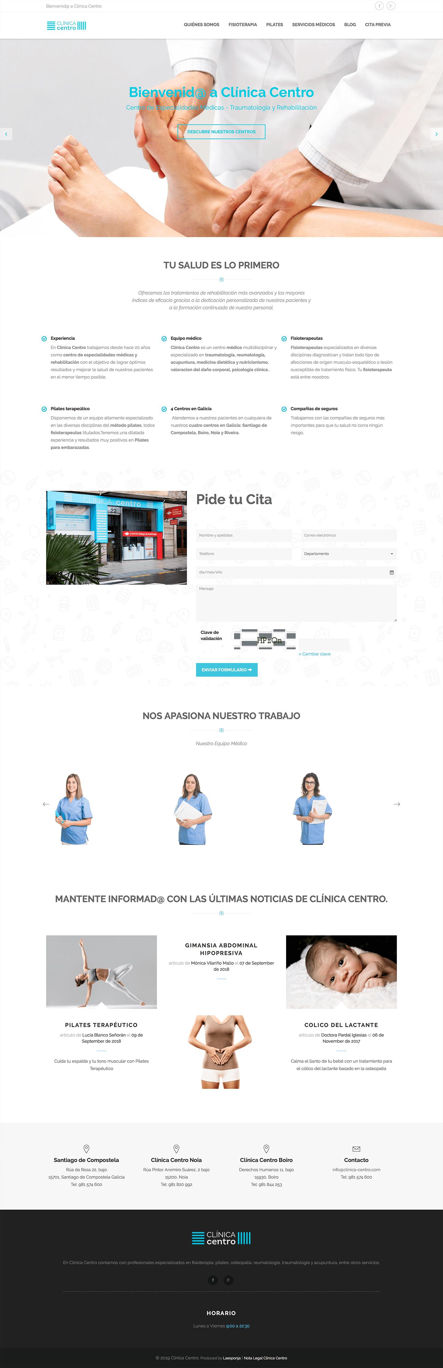 Web Clínica Centro : 1