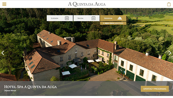 A Quinta da Auga Corporate Website : 1